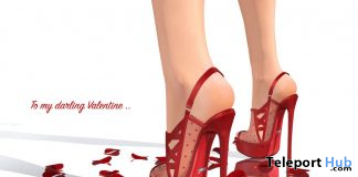 Kristen Lace Platforms Valentine Edition February 2020 Group Gift by Gos Boutique - Teleport Hub - teleporthub.com