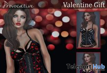 Hearts Lingerie February 2020 Gift by Blacklace - Teleport Hub - teleporthub.com