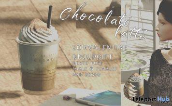 Chocolate Latte February 2020 Group Gift by Cinoe - Teleport Hub - teleporthub.com