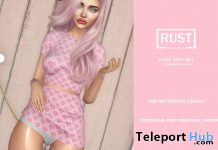 V-day Set Outfit Tres Chic February 2020 Group Gift by RUST REPUBLIC - Teleport Hub - teleporthub.com