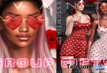Prema Shades & Essential V-Day Mini Dress February 2020 Group Gift by Avanti - Teleport Hub - teleporthub.com
