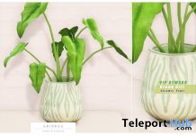 Ceramic Green Plant February 2020 Group Gift by Ariskea - Teleport Hub - teleporthub.com