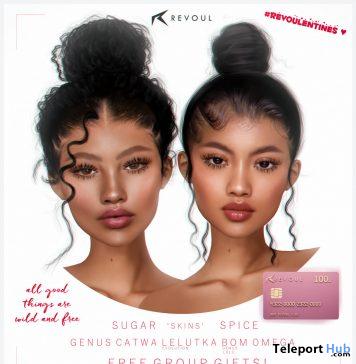 Sugar & Spice Skins REVOULENTINES February 2020 Group Gift by REVOUL - Teleport Hub - teleporthub.com