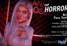 Brink Face Tattoo February 2020 Group Gift by The Horror! - Teleport Hub - teleporthub.com