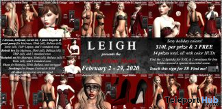 LEIGH Love Glam Hunt 2020 - Teleport Hub - teleporthub.com