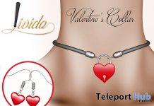 Valentine's Collar February 2020 Group Gift by Livido- Teleport Hub - teleporthub.com