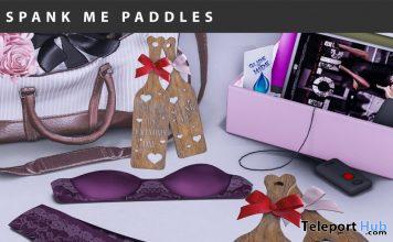 Spank Me Its Vday Paddles February 2020 Group Gift by Star Sugar - Teleport Hub - teleporthub.com