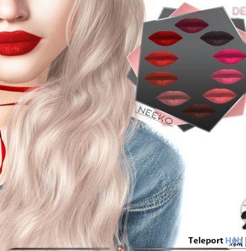 Delores Matte Lelutka Origins Lipstick Applier 50L Promo by NEEKO - Teleport Hub - teleporthub.com
