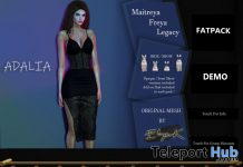 New Release: Adalia Dress by Eliya.K @ Shiny Shabby February 2020 - Teleport Hub - teleporthub.com