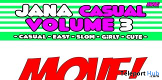 New Release: Jana Casual Vol. 3 Bento Dance Pack by MOVE! Animations Cologne - Teleport Hub - teleporthub.com