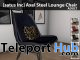New Release: Axel Steel Lounge Chair by [satus Inc] - Teleport Hub - teleporthub.com