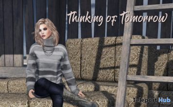 Thinking of Tomorrow Bento Sit Poses With Poseball February 2020 Gift by ChiC buildings - Teleport Hub - teleporthub.com
