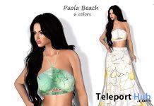 Paola Beach Outfit 10L Promo by Melon Rose - Teleport Hub - teleporthub.com