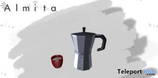 Vecchia Caffettiera March 2020 Gift by Almita - Teleport Hub - teleporthub.com