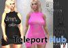ibi Dress Black & Pink Teleport Hub Group Gift by Pearl Fashion - Teleport Hub - teleporthub.com