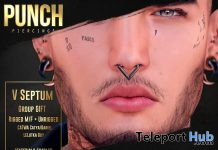 V Septum March 2020 Gift by PUNCH Piercing Store - Teleport Hub - teleporthub.com
