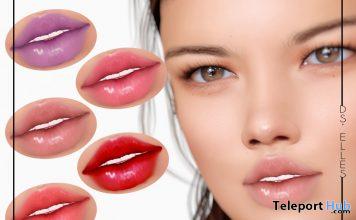 Lipsticks BOM For Catwa Mesh Head March 2020 Gift by DS'ELLES - Teleport Hub - teleporthub.com