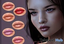 Lipsticks BOM For Genus Mesh Head March 2020 Gift by DS'ELLES - Teleport Hub - teleporthub.com