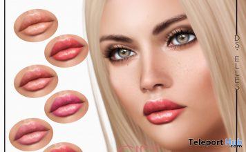 Lipsticks BOM For Lelutka Evolution Mesh Head March 2020 Gift by DS'ELLES - Teleport Hub - teleporthub.com
