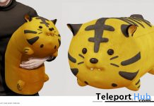 Tora Chonk Plush March 2020 Group Gift by taikou - Teleport Hub - teleporthub.com