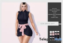 Izza Dress March 2020 Group Gift by [WellMade] - Teleport Hub - teleporthub.com