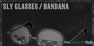 Sly Glasses Bandana April 2020 Gift by VISUALPHA - Teleport Hub - teleporthub.com