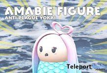 Amabie Figure March 2020 Gift by MOFU - Teleport Hub - teleporthub.com