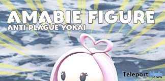 Amabie Figure March 2020 Gift by MOFU - Teleport Hub - teleporthub.com