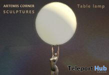 Table Lamp April 2020 Group Gift by Artemis Corner Sculptures - Teleport Hub - teleporthub.com