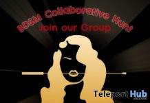 The Giant BDSM Collaborative Hunt May 2020 - Teleport Hub - teleporthub.com