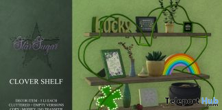 The Clover Shelf March 2020 Group Gift by Star Sugar - Teleport Hub - teleporthub.com