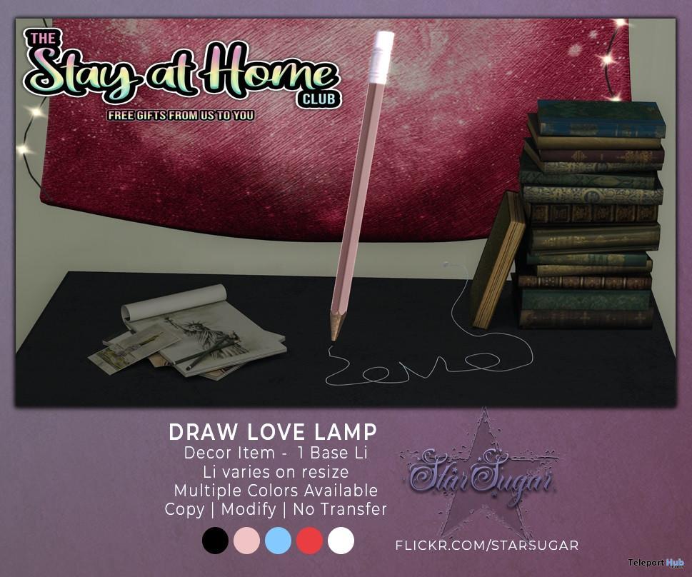 Draw Love Lamp March 2020 Gift by Star Sugar - Teleport Hub - teleporthub.com