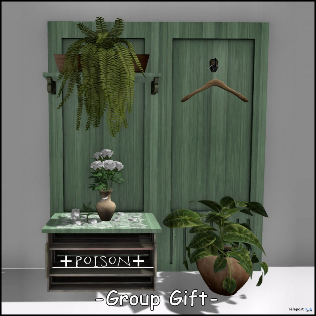 Entrance Decor March 2020 Group Gift by +Poison+ - Teleport Hub - teleporthub.com
