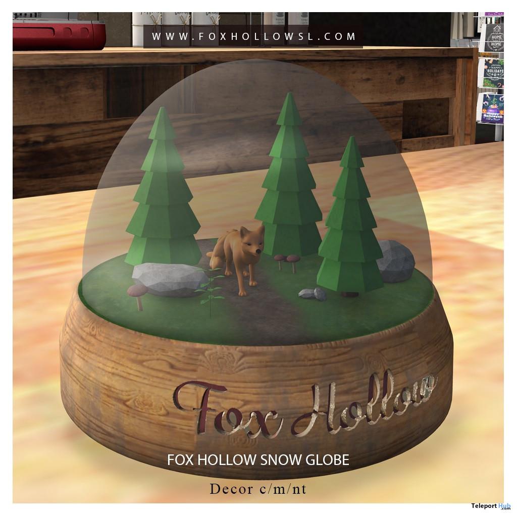 Snow Globe 1L Promo Gift by Fox Hollow Gift Shop - Teleport Hub - teleporthub.com