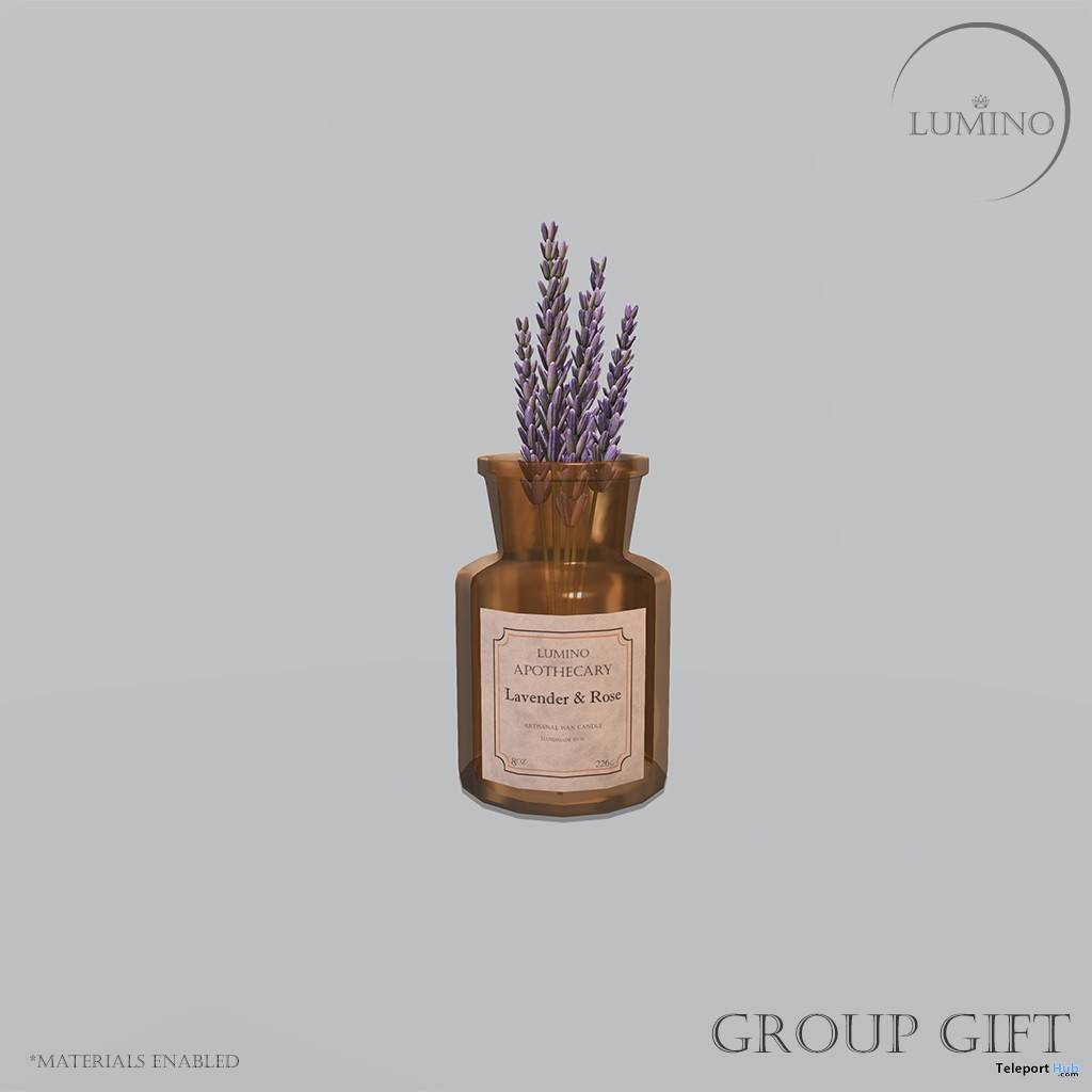 Jar of Lavender Springs March 2020 Group Gift by Lumino - Teleport Hub - teleporthub.com