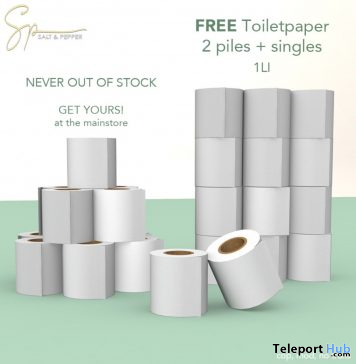 Never Out of Stock Toilet Paper March 2020 Gift by Salt & Pepper - Teleport Hub - teleporthub.com