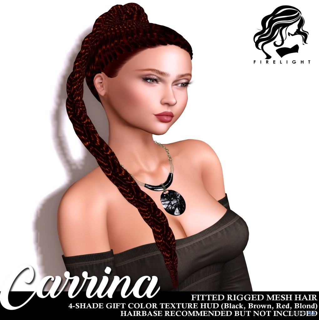 Carrina Hair Teleport Hub Group Gift by Firelight - Teleport Hub - teleporthub.com