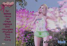Romper, Heels, & Rose Hair Pins April 2020 Group Gift Princess Stuff - Teleport Hub - teleporthub.com