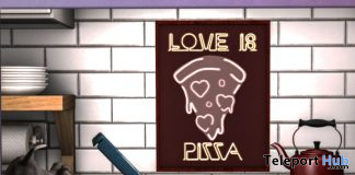 Love Is Pizza Shadowbox March 2020 Gift by Star Sugar - Teleport Hub - teleporthub.com