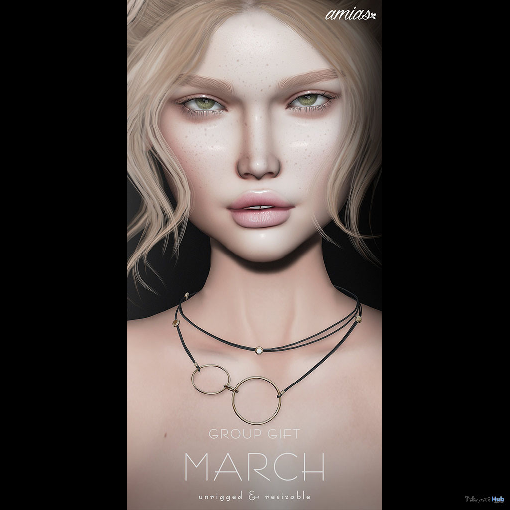 Ring Necklace March 2020 Group Gift by amias - Teleport Hub - teleporthub.com