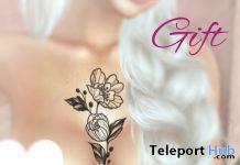 Flower Tattoo 1L Promo Gift by ADA Tattoo Shop - Teleport Hub - teleporthub.com