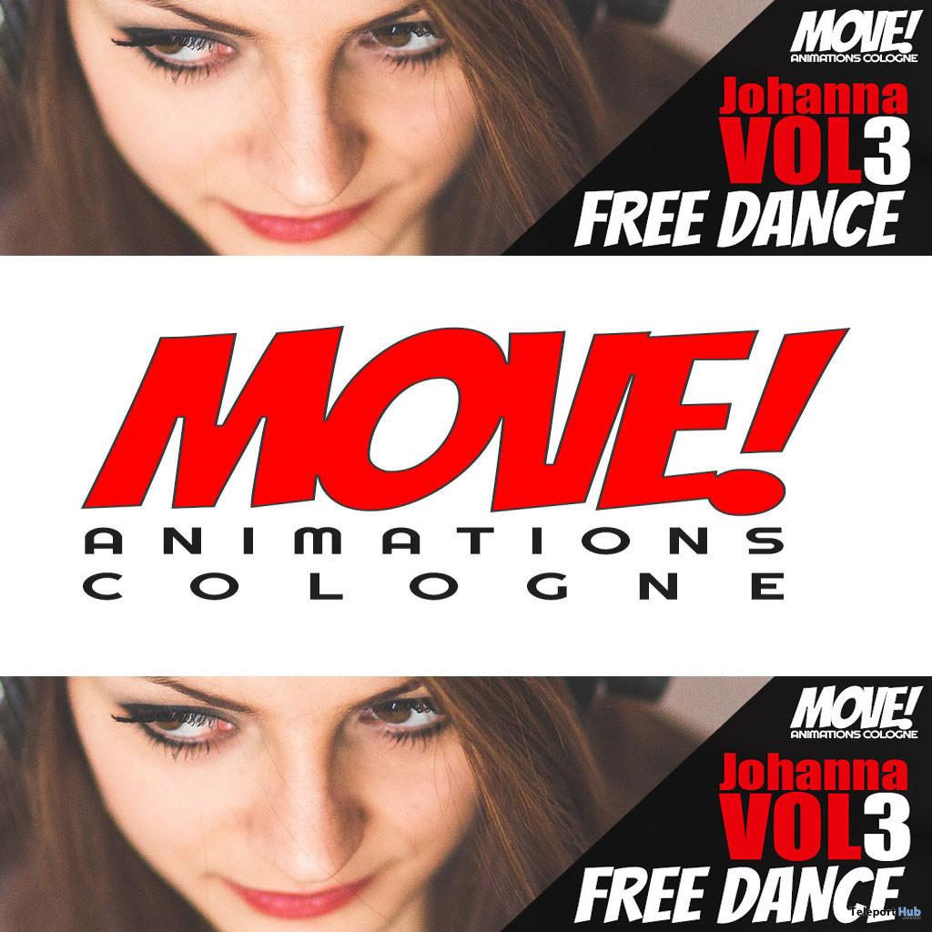 Johanna 40 Bento Dance Gift by MOVE! Animations Cologne - Teleport Hub - teleporthub.com