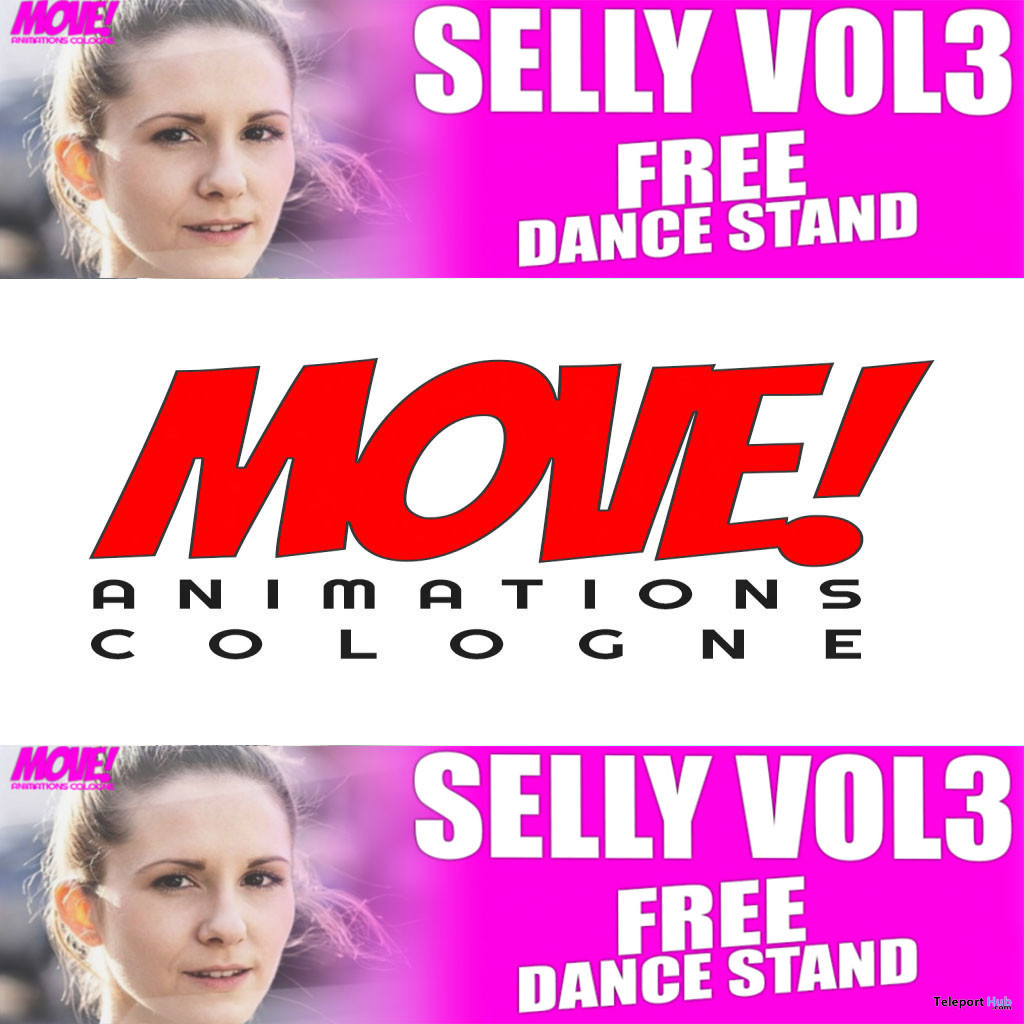 Selly 52 Bento Dance Gift by MOVE! Animations Cologne - Teleport Hub - teleporthub.com