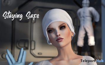 Staying Safe Virus Greeting Pose Unisex March 2020 Gift by ChiC buildings - Teleport Hub - teleporthub.com