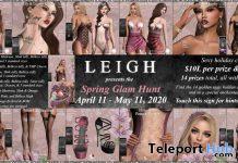 LEIGH Spring Glam Hunt 2020 - Teleport Hub - teleporthub.com