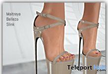 Sujaila Heels April 2020 Group Gift by RUMBI - Teleport Hub - teleporthub.com