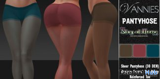 Pantyhose April 2020 Gift by VANNIES - Teleport Hub - teleporthub.com