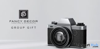 Vintage Camera April 2020 Group Gift by Fancy Decor - Teleport Hub - teleporthub.com