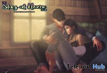 You Are Not Alone Couple Pose April 2020 Gift by CuCa Designs - Teleport Hub - teleporthub.com