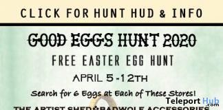 Good Eggs Hunt 2020 - Teleport Hub - teleporthub.com